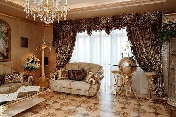 шторы в гостиную пермь